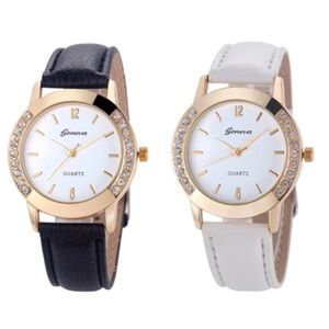 Geneva Women's Analog Quartz Wrist Watch